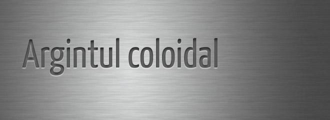 Argint coloidal