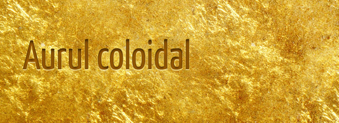 Aur coloidal