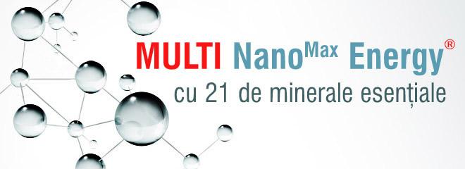 Multi Nano Max Energy - cu 21 de minerale esentiale | ColoiziBio.ro