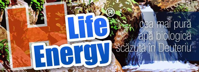 H-Life Energy - cea mai pura apa biologica saraca in Deuteriu | ColoiziBio.ro