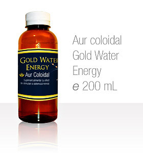 Aur coloidal Gold Water Energy 200 mL