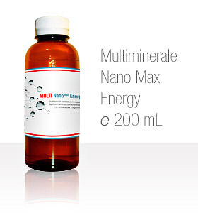 Multiminerale Coloidale Nano Max Energy 200 mL